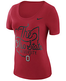 Nike Women's Ohio State Buckeyes State Local Elements T-Shirt