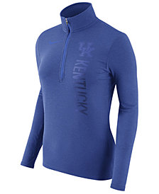 Nike Women's Kentucky Wildcats Stadium Element Quarter-Zip Pullover