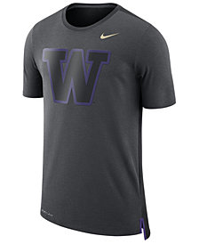 Nike Men's Washington Huskies Meshback Travel T-Shirt