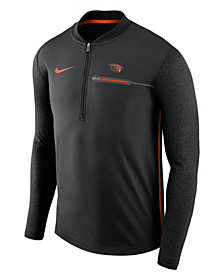 Nike Men's Oregon State Beavers Coaches Quarter-Zip Pullover