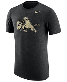 Nike Men's Colorado Buffaloes Vault Logo Tri-Blend T-Shirt