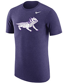 Nike Men's TCU Horned Frogs Vault Logo Tri-Blend T-Shirt
