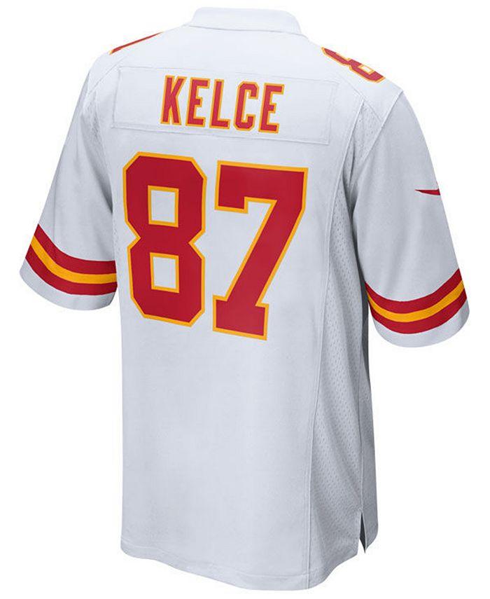 Men's Travis Kelce Kansas City Chiefs Game Jersey
