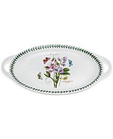 Portmeirion Botanic Garden Oval Handled Platter
