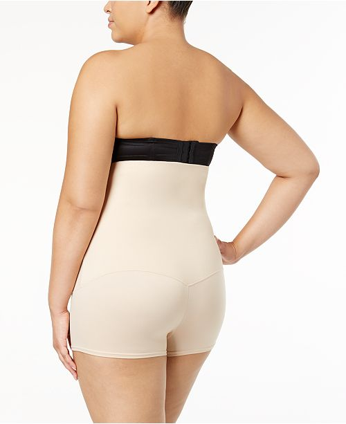 c5d154fba52 Maidenform Women's Plus Size Firm Control Fat-Free Dressing High Waist  Boyshort ...