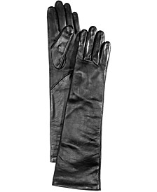 Long Leather Tech Gloves, Created for Macy's