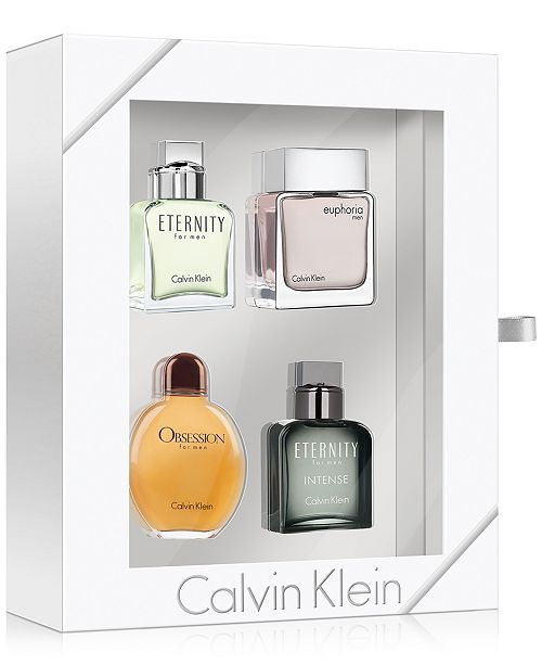 Calvin Klein Men's 4-Pc. Coffret Gift Set