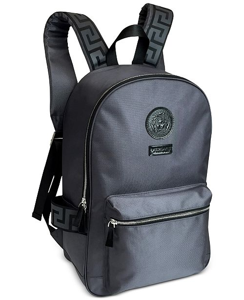 f8bb7c4db6 Versace Receive a Complimentary Backpack with any large spray purchase from  the Versace Dylan Blue fragrance