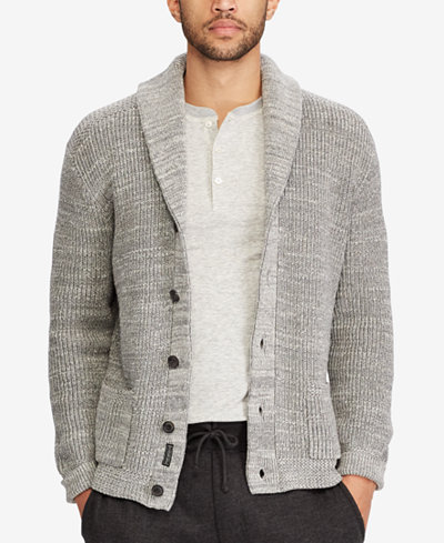 Polo Ralph Lauren Men's Shawl-Collar Cardigan - Sweaters - Men ...