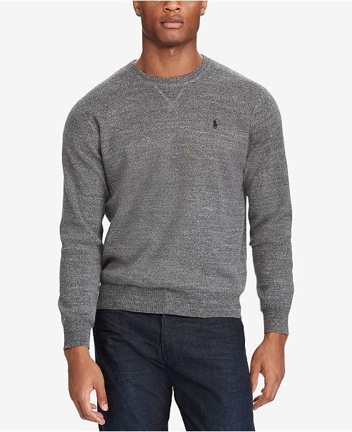 b37b7b41330 Polo Ralph Lauren Men s Crew-Neck Sweater   Reviews - Sweaters - Men ...