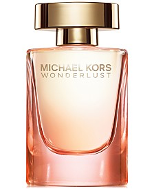 NEW Receive a 3 Pc gift, which includes a Glam Weekender and two Wonderlust 0.14 oz Deluxe Minis, with the purchase of $100 or more from the Michael Kors Fragrance Collection