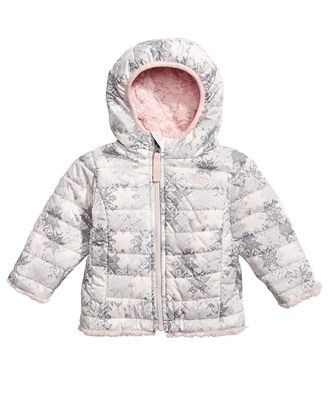 The North Face Mossbud Reversible Hooded Puffer Jacket, Baby Girls