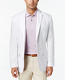 Tasso Elba Men's Linen 2-Button Blazer, Created for Macy's