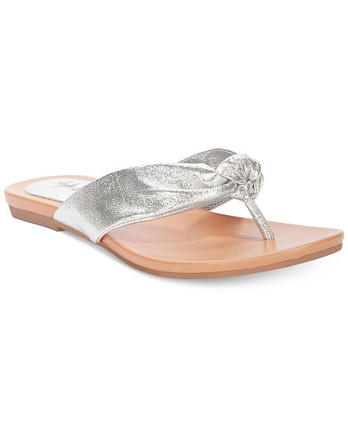 3d3237c9f Style   Co Fabbes Flat Thong Sandals