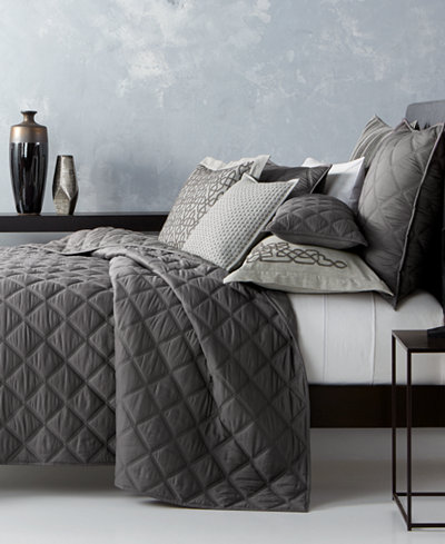 Hotel Collection Fretwork Quilted King Coverlet, Created for ... : hotel collection quilted coverlet - Adamdwight.com