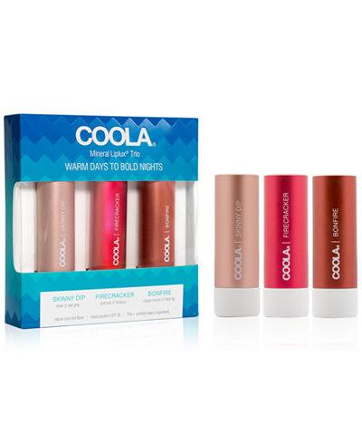 Coola 3-Pc. Mineral Liplux Set