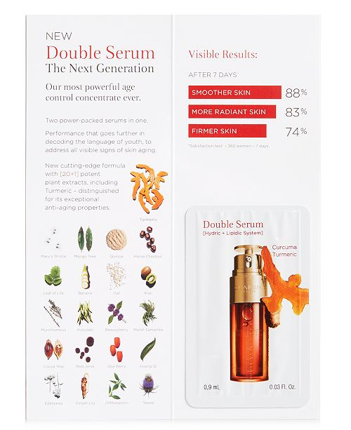 Clarins Receive a FREE 10-Day Trial of NEW! Clarins Double