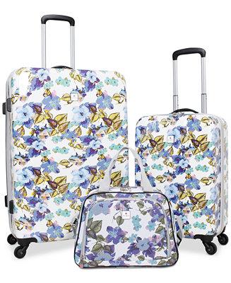 Tag Pop Art 3 Pc Hardside Spinner Luggage Set Created