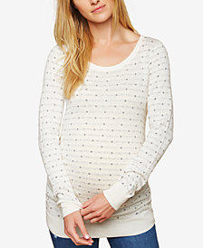 Motherhood Maternity Patterned Sweater