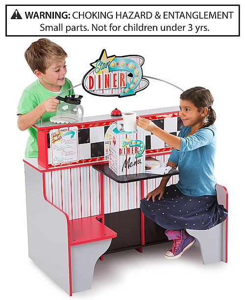 Melissa and Doug Melissa & Doug Star Diner Restaurant
