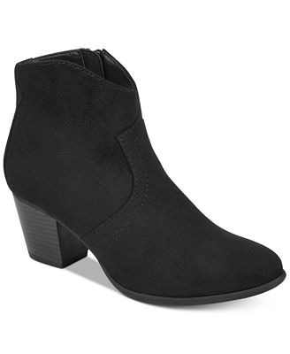 American Rag Rylie Western Ankle Booties, Created for Macy's