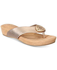 Giani Bernini Rosahle Slip-On Sandals, Created for Macy's