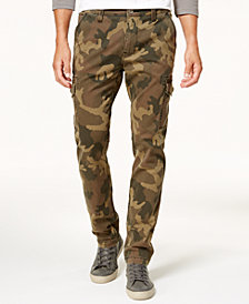 True Religion Men's Slim-Fit Cargo Pants