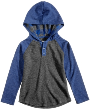 Epic Threads Hooded Henley,...