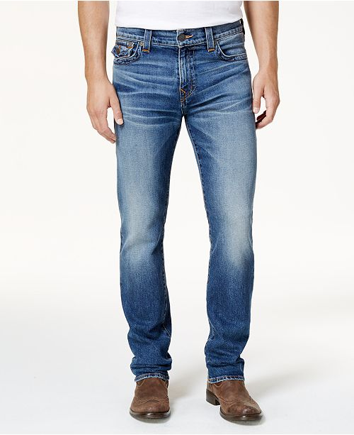 True Religion Men's Straight Fit Stretch Jeans
