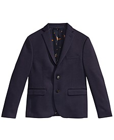 Knit Suit Jacket, Big Boys