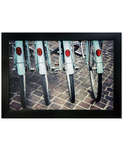 Crestview Bicycle Line Up Wall Art, Quick Ship
