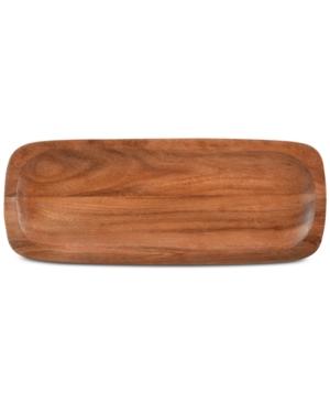 Noritake Serveware Kona Wood Rectangular Platter