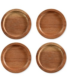 Noritake Coasters, Set of 4 Kona Wood