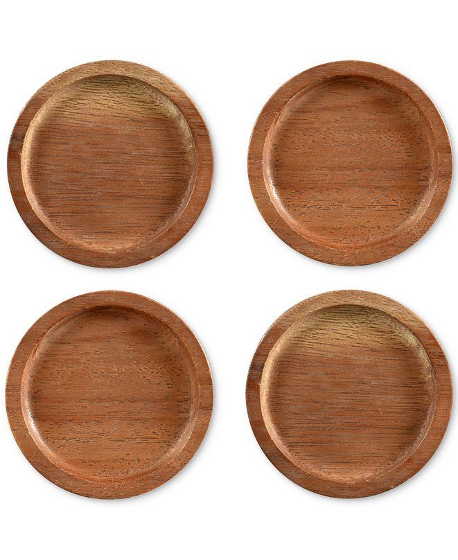 Noritake Coasters, Set of 4 Kona Wood