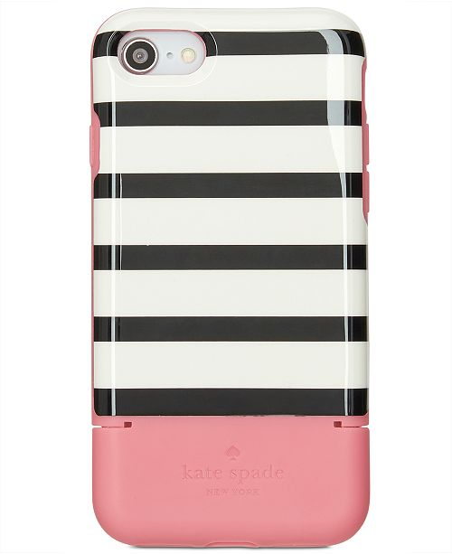 purchase cheap 0eaa1 c1788 kate spade new york Stripe Credit Card iPhone 7/8 Case & Reviews ...