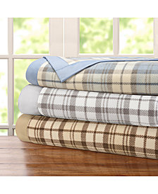 True North by Sleep Philosophy Plaid Micro-Fleece Blanket
