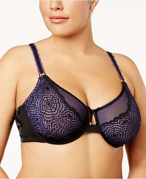 b00b8b108cc7b Ashley Graham Plus Size Attraction Underwire Bra - All Bras - Women ...