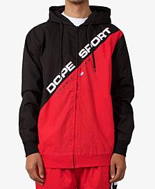 DOPE Men's Colorblocked Hooded Windbreaker