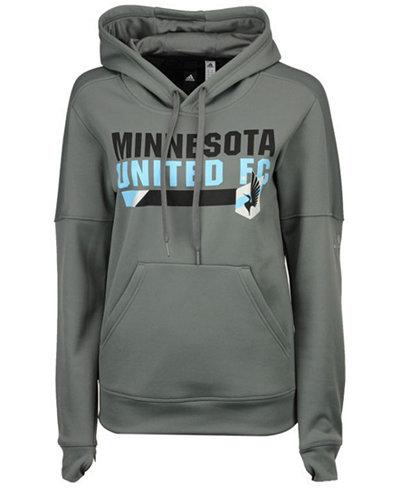 adidas Women's Minnesota United FC Bottom Bar Slant Hoodie