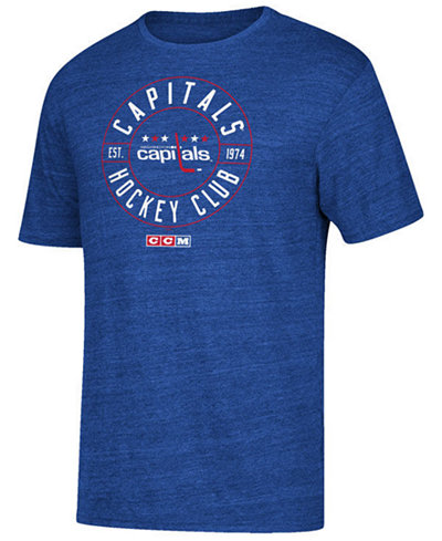 CCM Men's Washington Capitals Wheelhouse T-Shirt