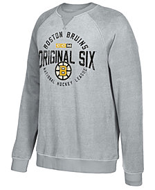 CCM Men's Boston Bruins Original 6 Classic Crew Sweatshirt