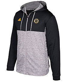 adidas Men's Boston Bruins Two Tone Full-Zip Hoodie