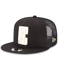 New Era Los Angeles Clippers Metal Mesh 9FIFTY Snapback Cap
