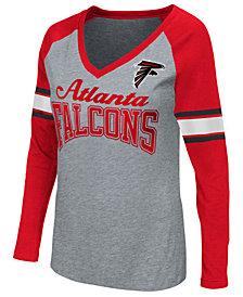G-III Sports Women's Atlanta Falcons In the Zone Long Sleeve T-Shirt