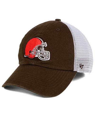 '47 Brand Cleveland Browns Deep Ball Mesh CLOSER Cap