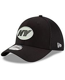 New York Jets Black/White Neo MB 39THIRTY Cap