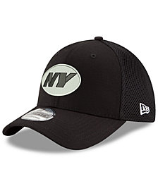 New Era New York Jets Black/White Neo MB 39THIRTY Cap