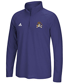 adidas Men's East Carolina Pirates Ultimate Quarter-Zip Pullover