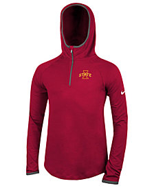 Nike Iowa State Cyclones Element Logo Zip Hoodie,  Big Girls
