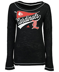 adidas Women's Louisville Cardinals Pennant Pride Long Sleeve T-Shirt